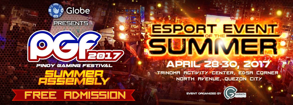 PGF 2017, the gaming event of the summer, is back!