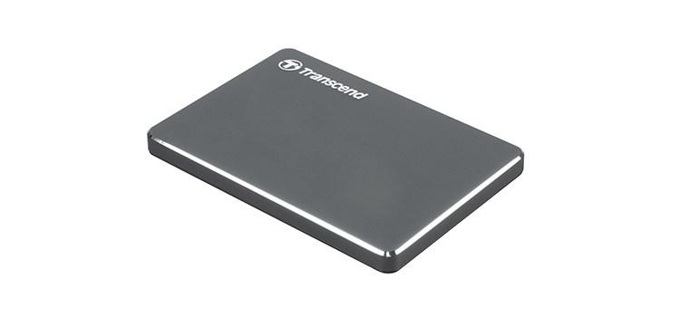 Transcend introduces the ultra slim portable Storage StoreJet® 25C3