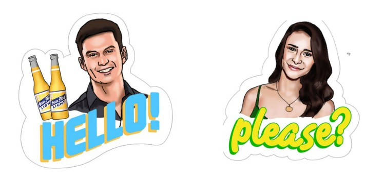 San Miguel Beer unleashes star-studded Viber sticker pack