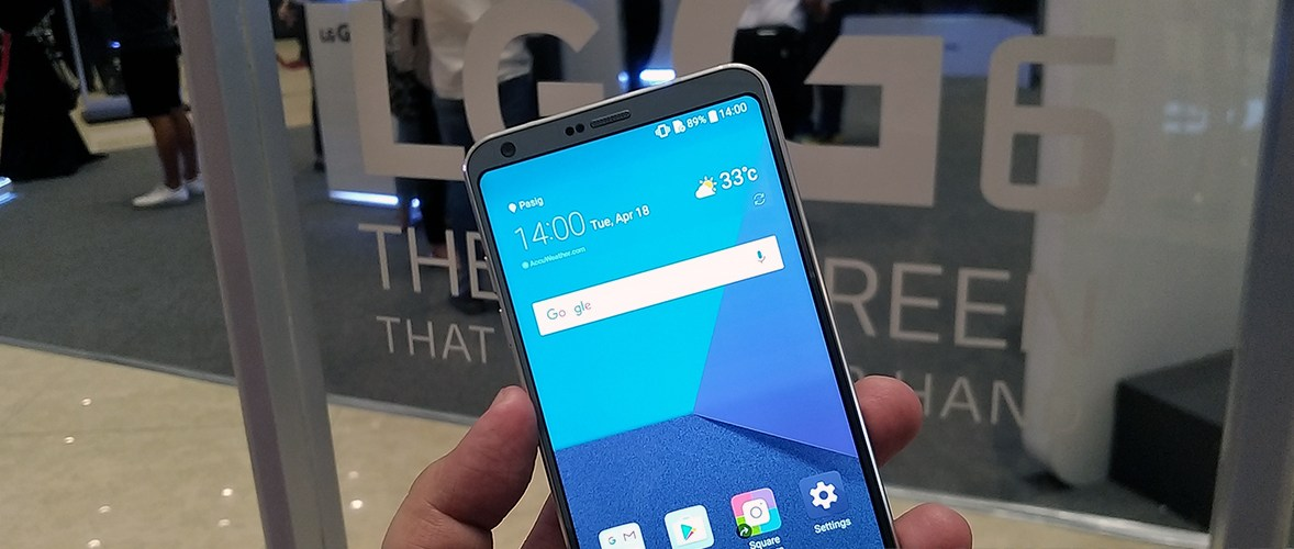 FIRST IMPRESSIONS | The LG G6