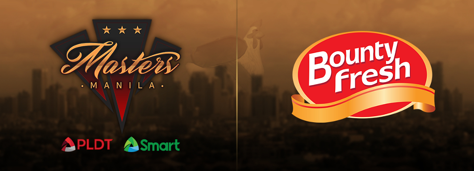 Bounty Fresh Food Inc. officially sponsors the Manila Masters