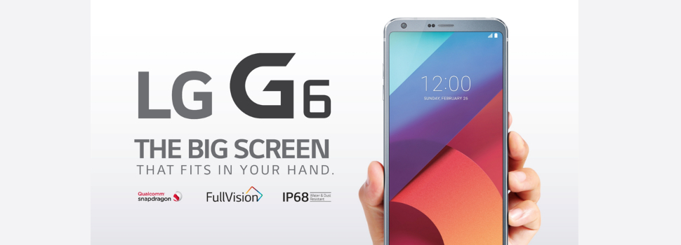 LG G6 now available with Globe Plan 1499