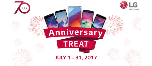 LG celebrates 70th global anniversary with Php 8,000 off on flagship G6