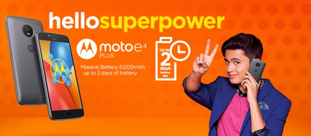 Moto E4 Plus now on Lazada and in retail stores