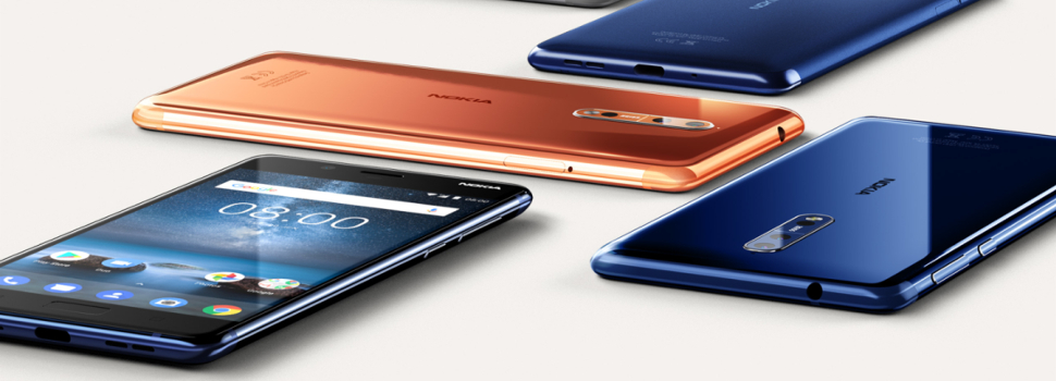 Nokia announces their new flagship Nokia 8