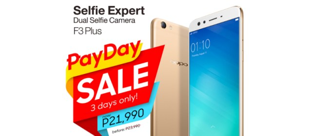 OPPO offers a limited time discount this Payday Weekend