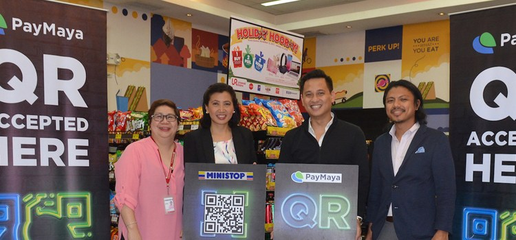 PayMaya Partners With MiniStop For Cashless QR Payment Methods
