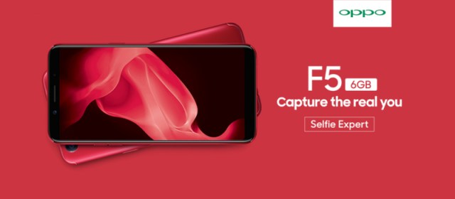 Limited Edition Red OPPO F5 6GB now official in the Philippines