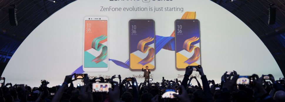MWC 2018   ASUS Launches The New ZenFone 5 Series