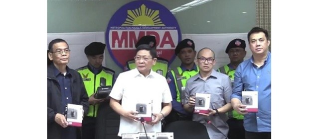 MMDA Gets Transcend Body Cameras to Equip Traffic Enforcers