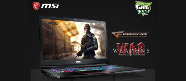 Experience #NewGamingDimension with MSI Gaming Laptops at Game Fest 2018