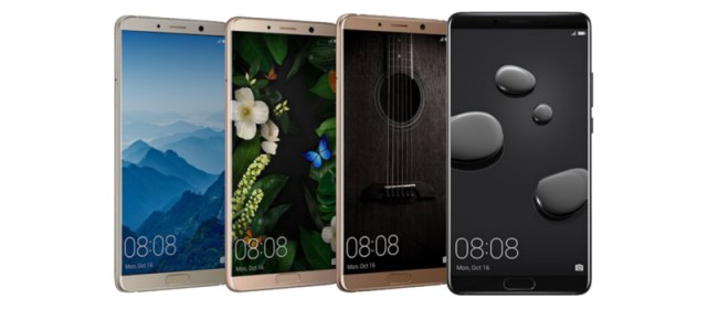 Five cool features of the AI-powered Huawei Mate 10 series