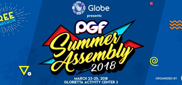 Pinoy Gaming Festival returns this March 23-25 at the Glorietta Activity Center