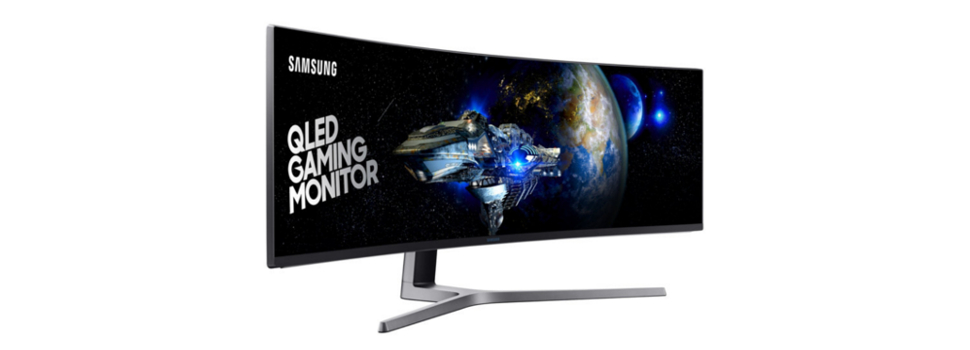 Unbox the future of gaming with the SAMSUNG CHG90 49″ QLED Curved Gaming Monitor