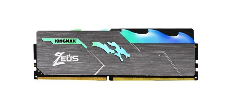 KINGMAX Unveils the Zeus Dragon DDR4 RGB Gaming Memory Module