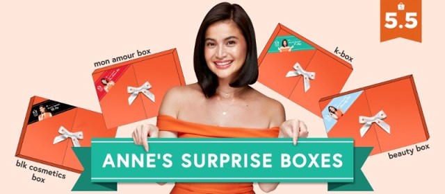 """Anne Curtis Celebrates 5.5 Shopee Super Sale With Exclusive """"Surprise Boxes"""" Worth Up to ₱1,500"""