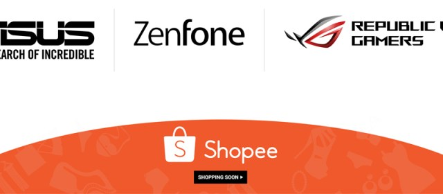ASUS Opens New Online Store With Shoppee