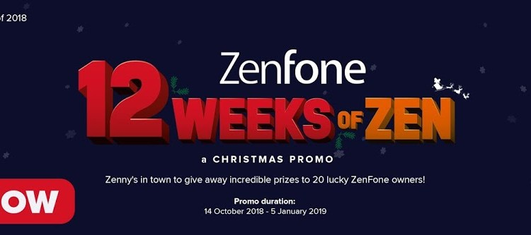 12 Weeks of Zen: A Holiday Giveaway from ASUS ZenFone