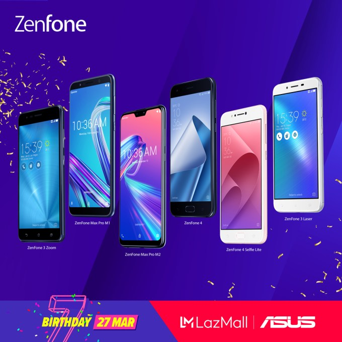 ASUS Philippines Lazada 3.3 Birthday Sale