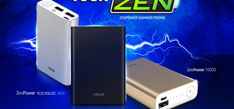 Win a ZenBook 13 By Getting A ZenPower Powerbank!