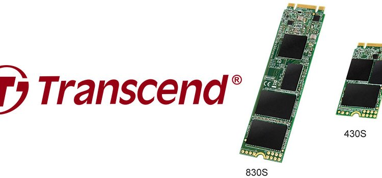 Transcend Releases Space-saving M.2 SSDs 430S and 830S for Ultra-compact Computing Devices