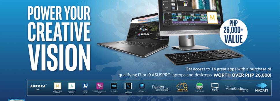 """ASUSPRO and Intel Launch the Exclusive """"Ultimate Creativity Pack"""""""
