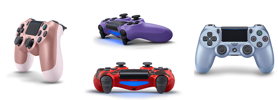 Sony Releases New Controller Colorways And Wireless Headset