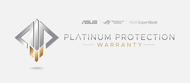 ASUS launches Platinum Protection Warranty service