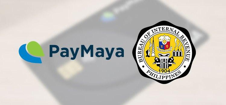 How to pay your BIR taxes via PayMaya