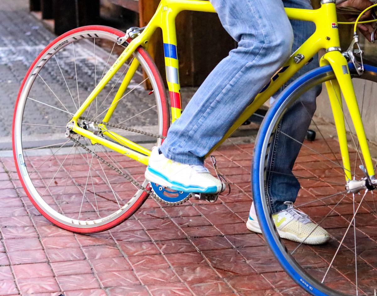 Cool Racing Bike Yellow