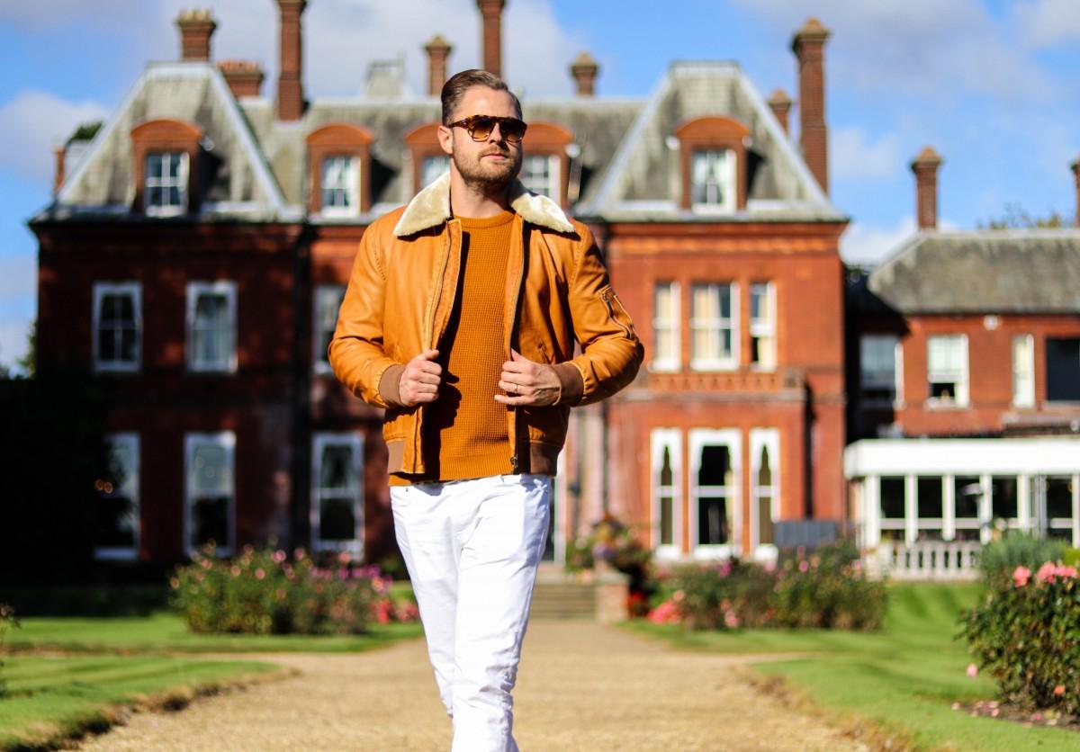 Zara Orange Jacket H&M Knitwear Menswear