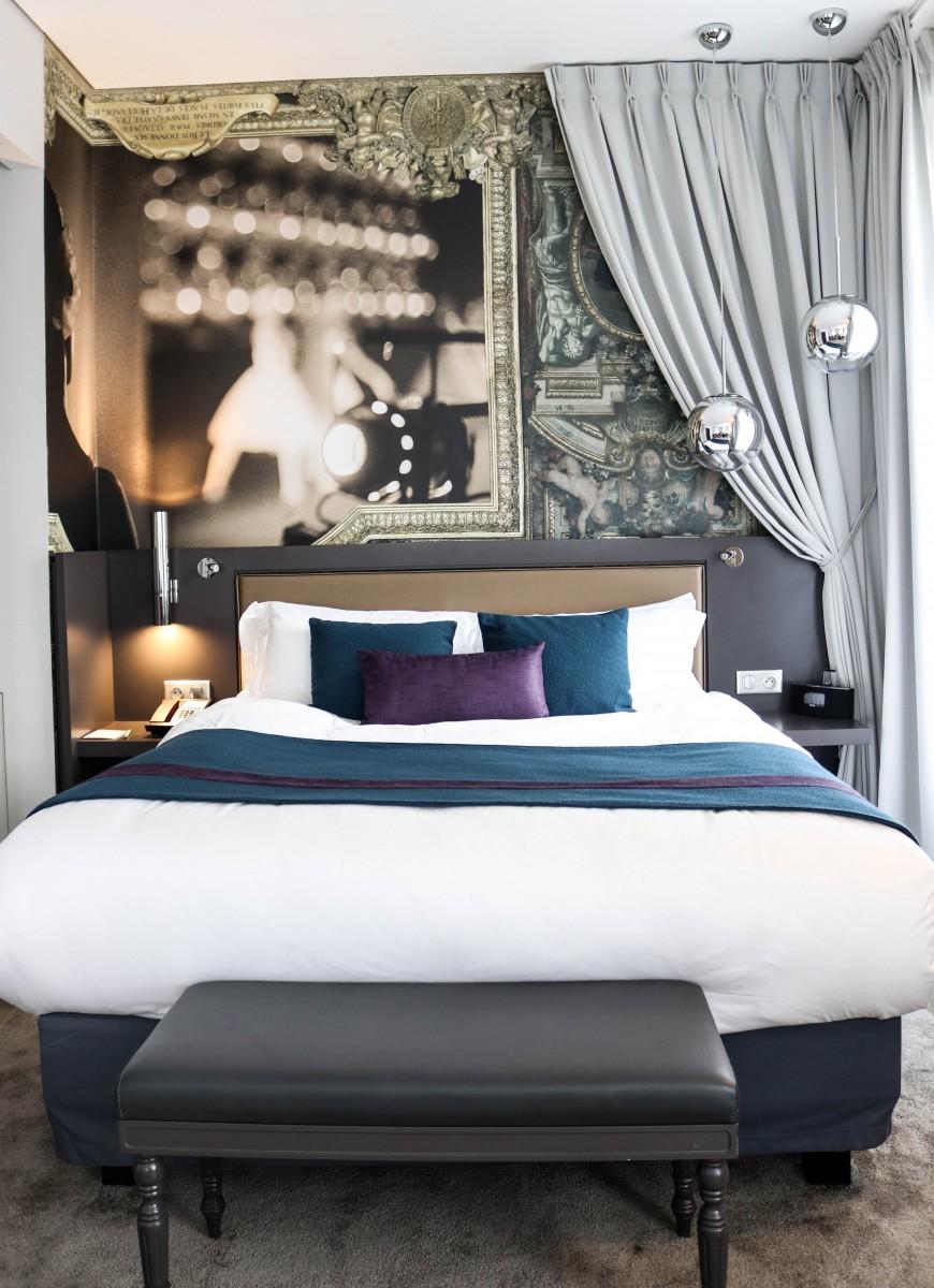 Bedroom Junior Suite Hotel Indigo Paris