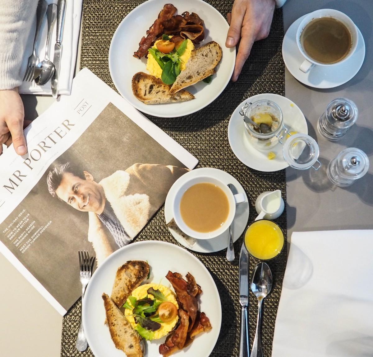 Breakfast at Hotel Indigo Paris