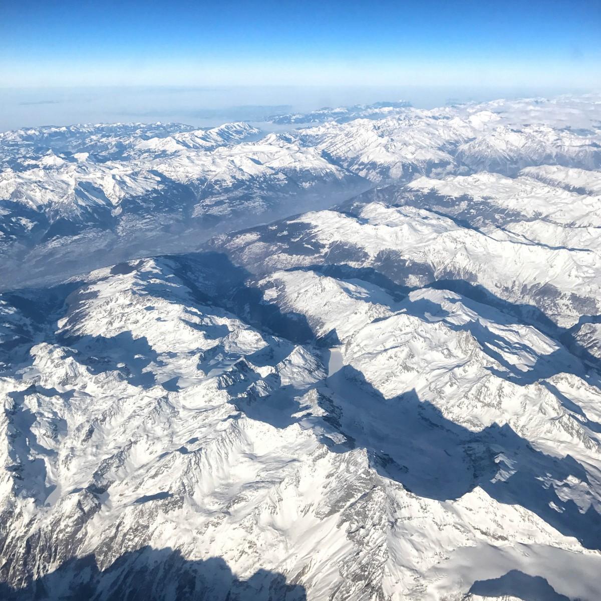 South Tyrol Skiing Alps Scenery