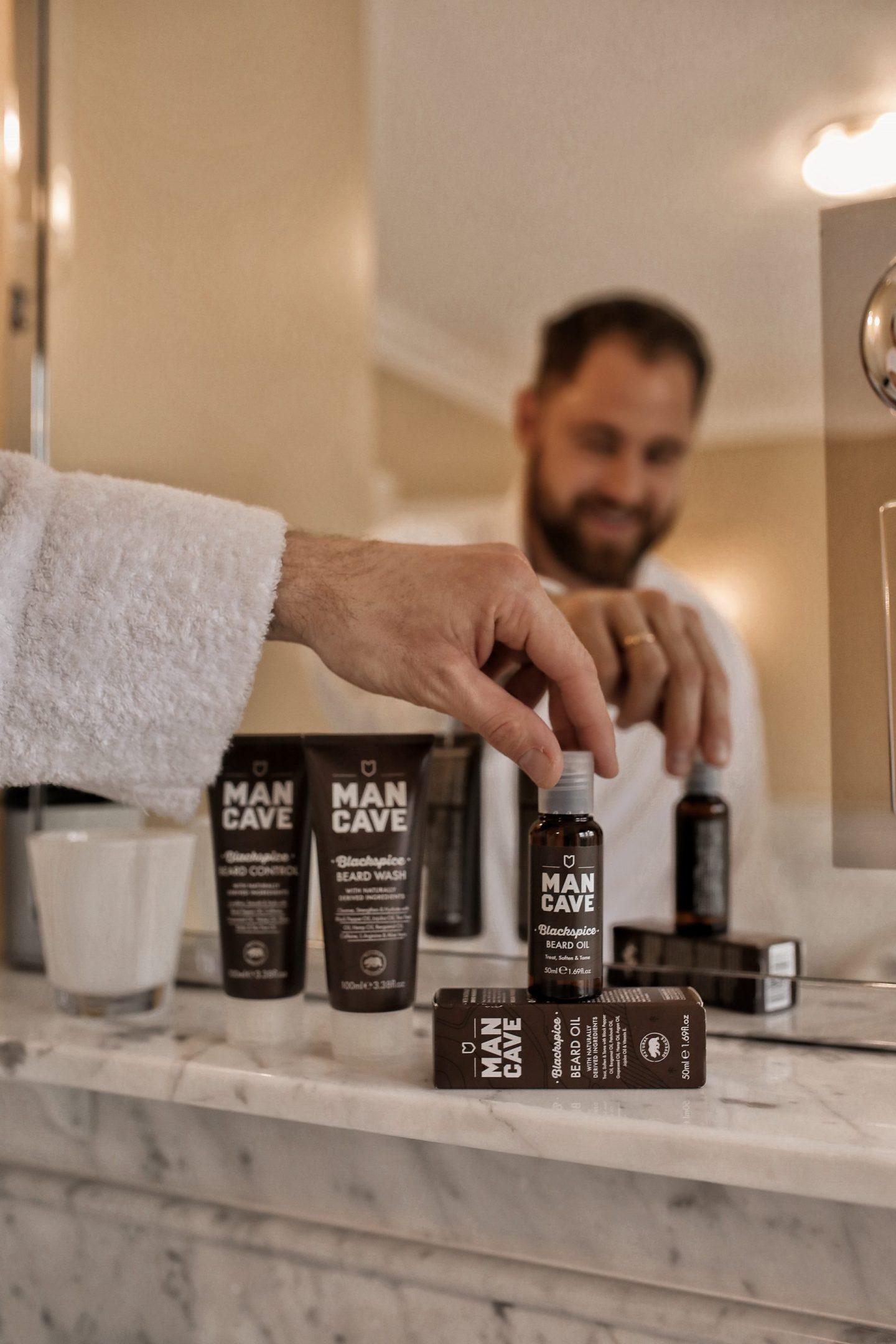 ManCave Natural Grooming Gear Blackspice Beard