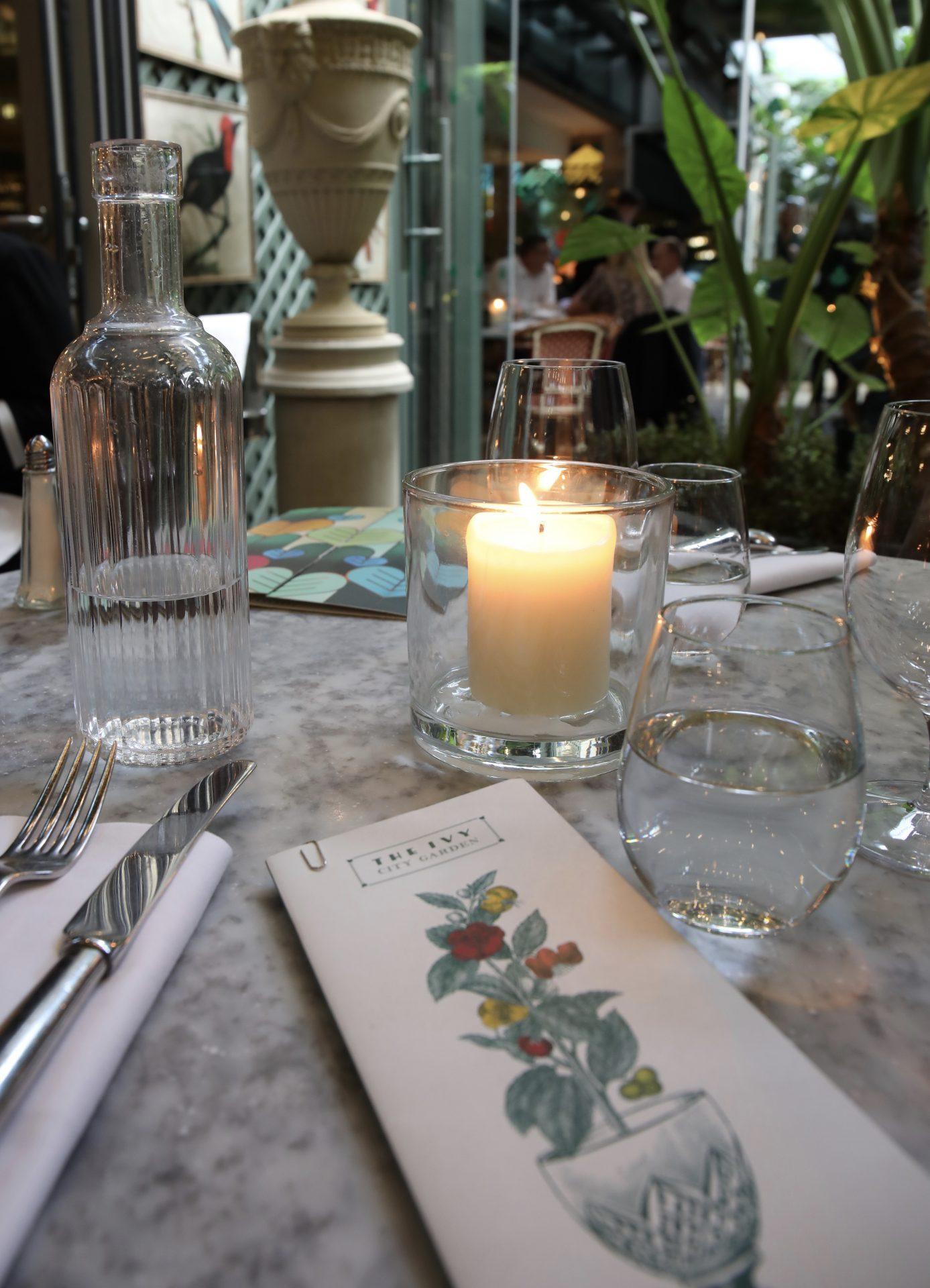 The Ivy City Garden London Liverpool Street