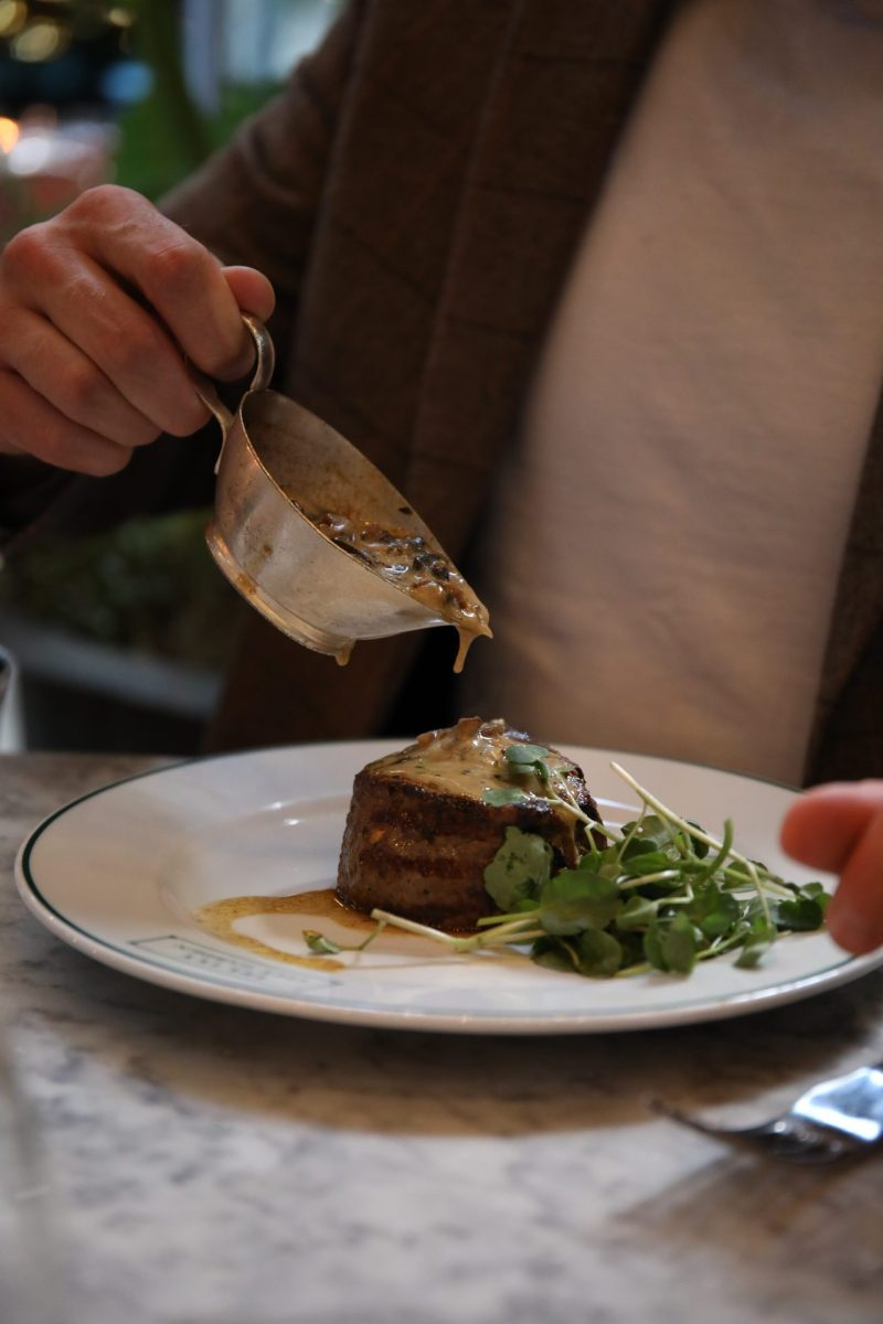 Where to Eat at Liverpool Street | Lunch at The Ivy City Garden