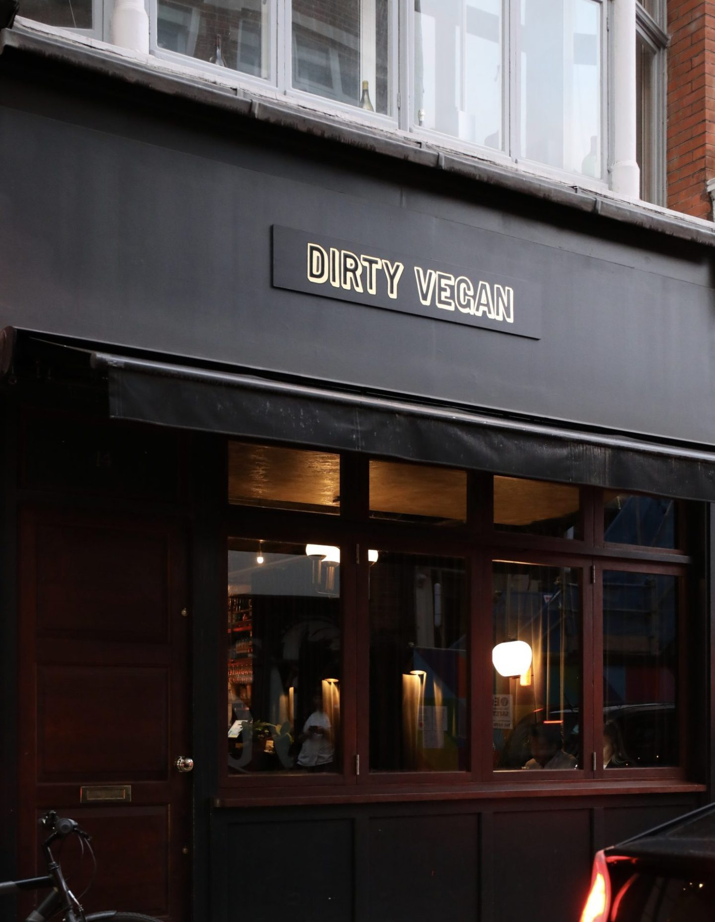 Dirty Vegan Dirty Bones Soho London