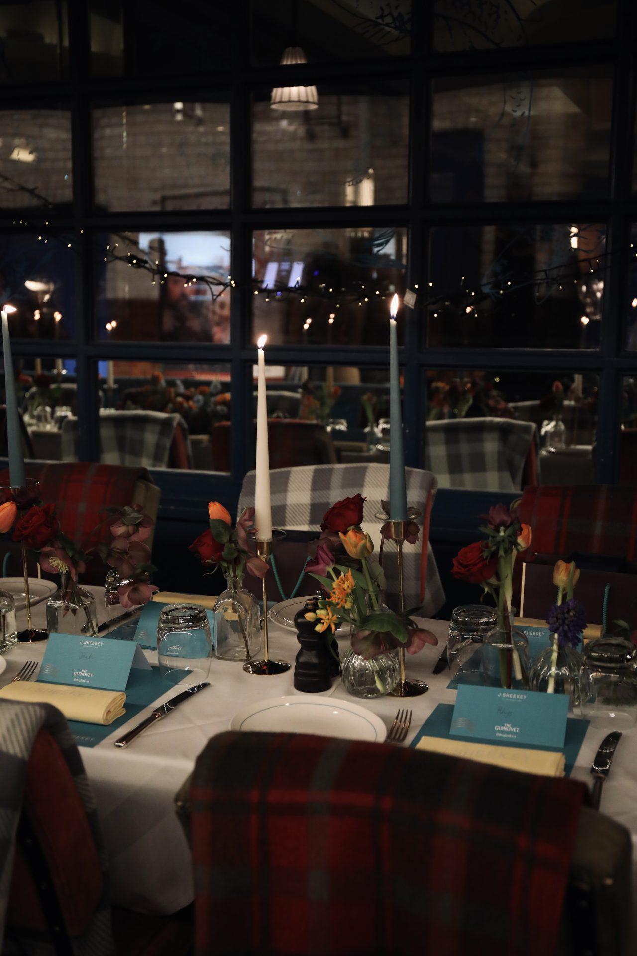 J Sheekey Glenlivet Winter Terrace