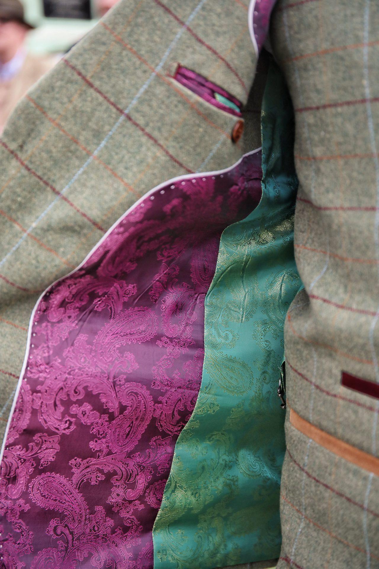 Marc Darcy ELLIS Tweed Suit Cheltenham Horse Races 2020