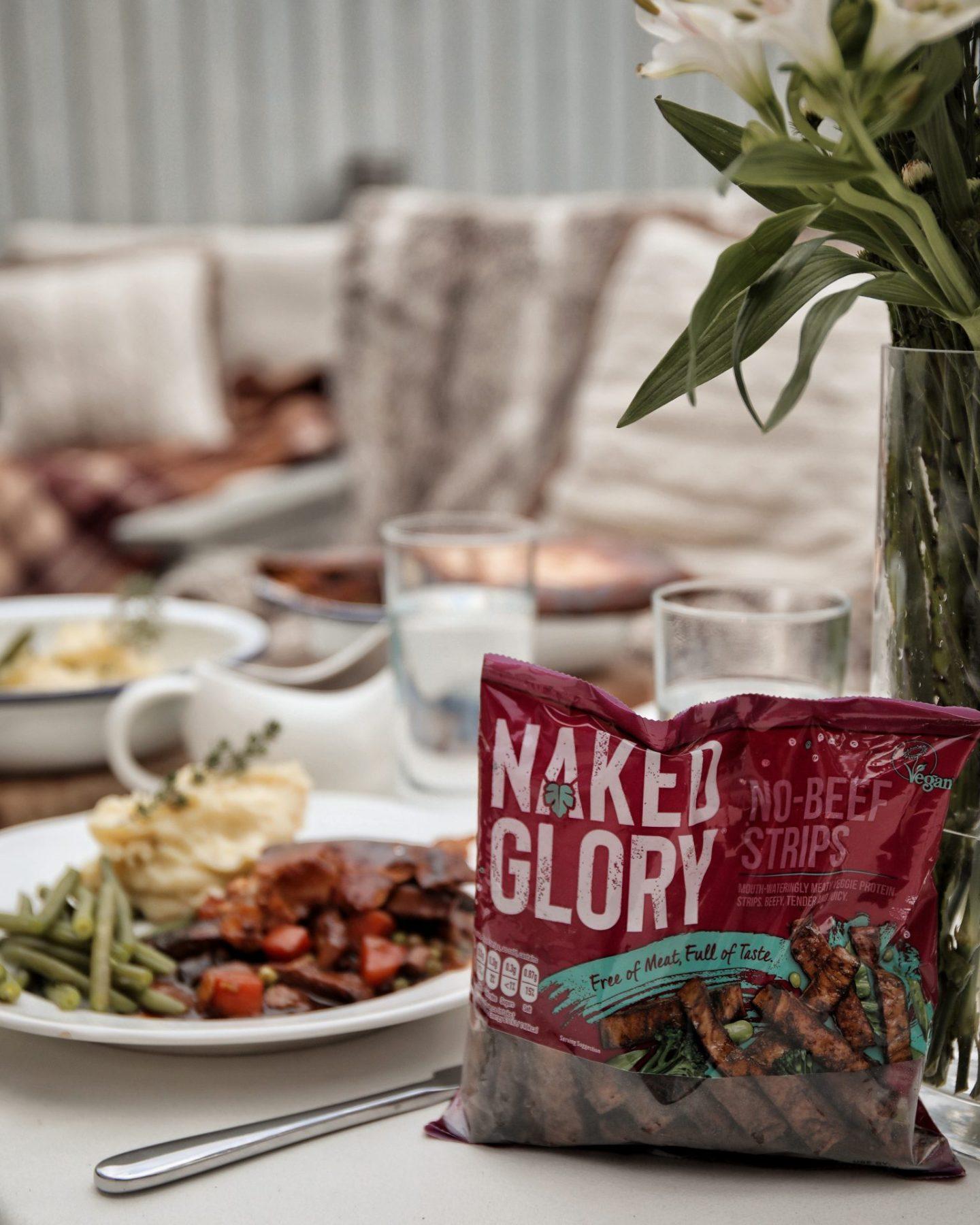 Naked Glory Steak Ale Pie Veganuary Meat Free Recipe