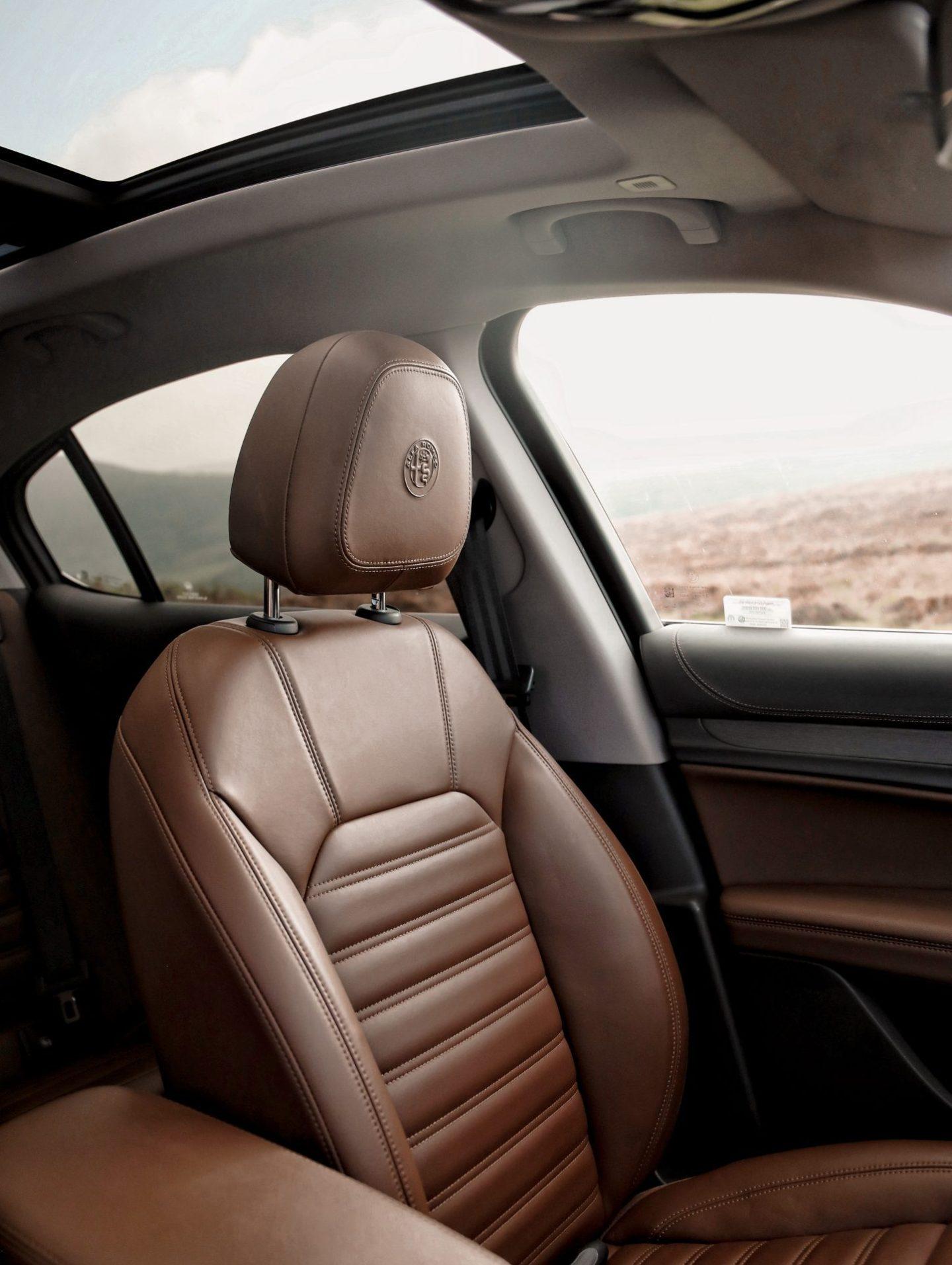 Alfa Romeo Stelvio Review Car SUV Family Car Interior