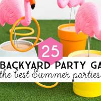 25 DIY Backyard Party Games for the Best Summer Party Ever