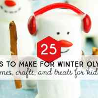 25 Winter Olympics Games, Crafts, and Treats for Kids