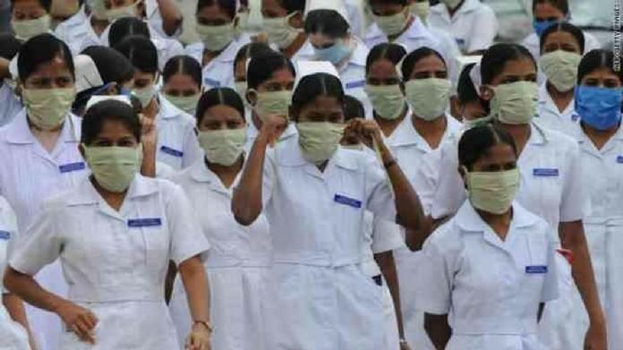 delhi nurses sudden strike sc stayed requests regarding nurses wages management plea on nurses wages dismissed by sc