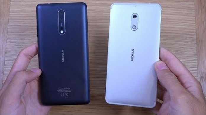 nokia 6 and nokia 8 price drops amazon