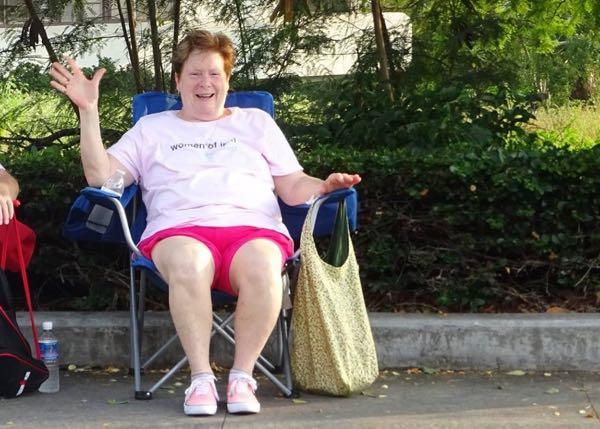 Joan Hargis spread hope