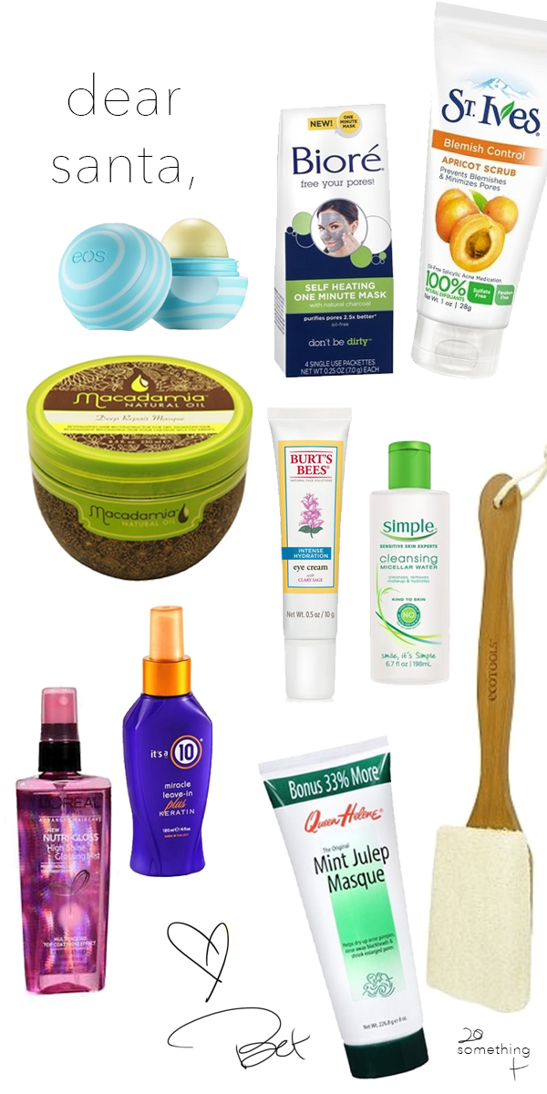 Drugstore Wish List