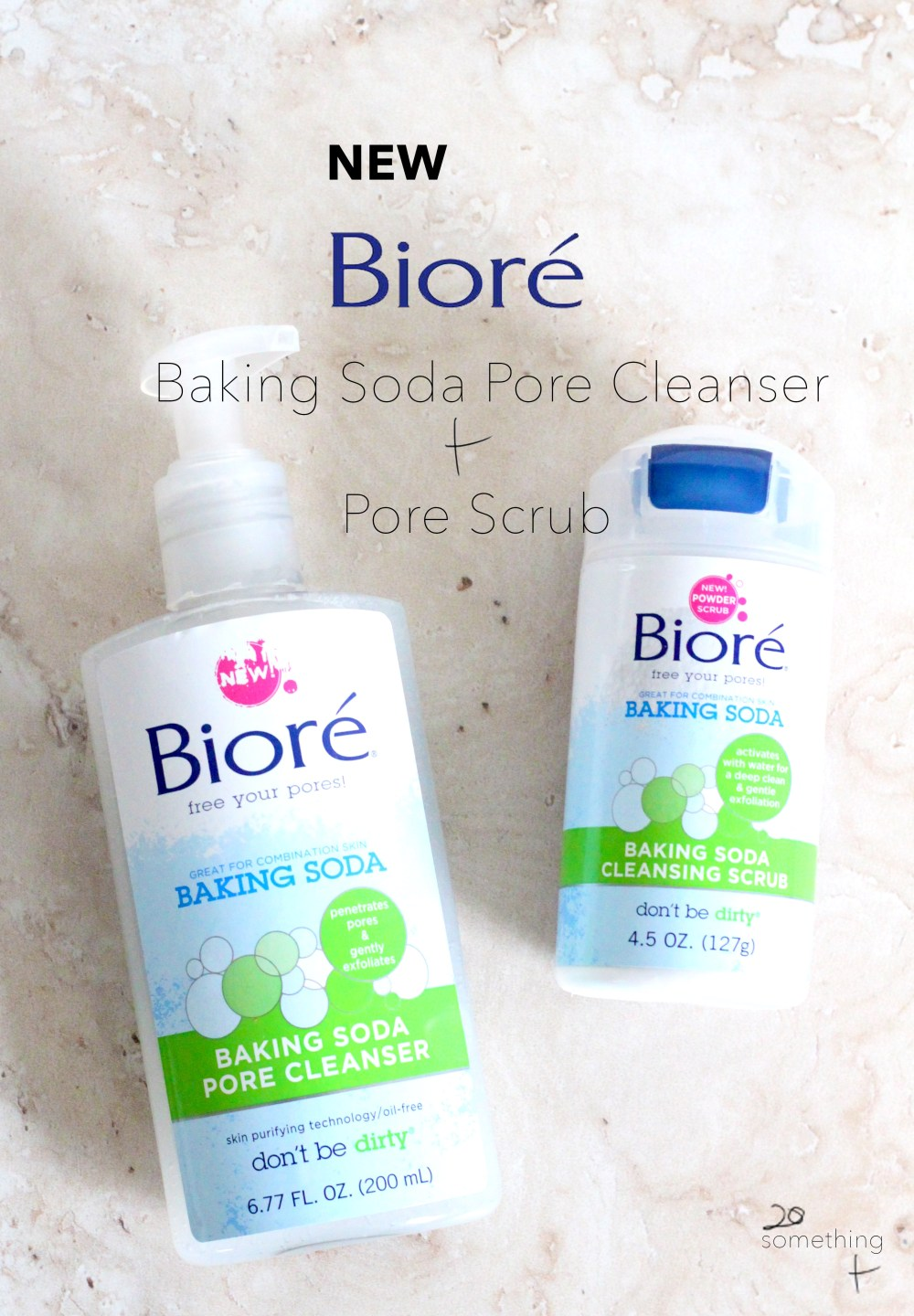 New Bioré Baking Soda Cleanser
