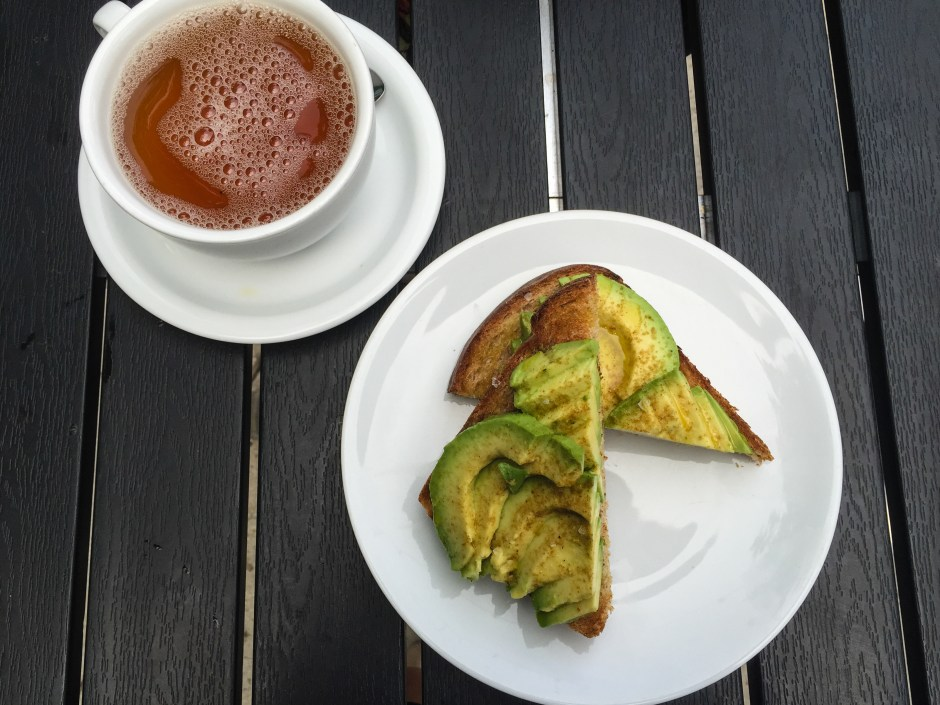 Rosella Coffee Avocado Toast